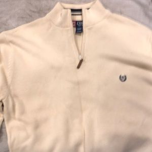 Chaps zip up sweater xl never worn